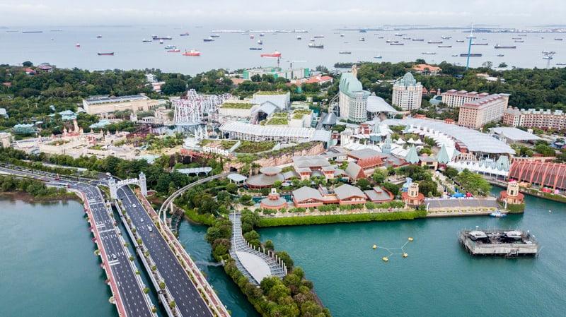 Sentosa Adası Singapur