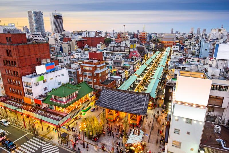 Asakusa Bölgesi Tokyo'da Nerede Kalınır ?