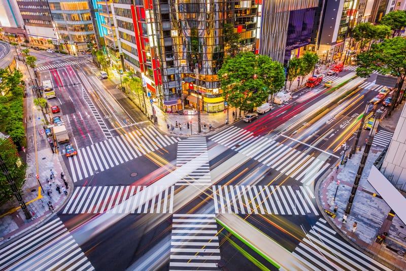 Ginza Bölgesi Tokyo'da Nerede Kalınır ?