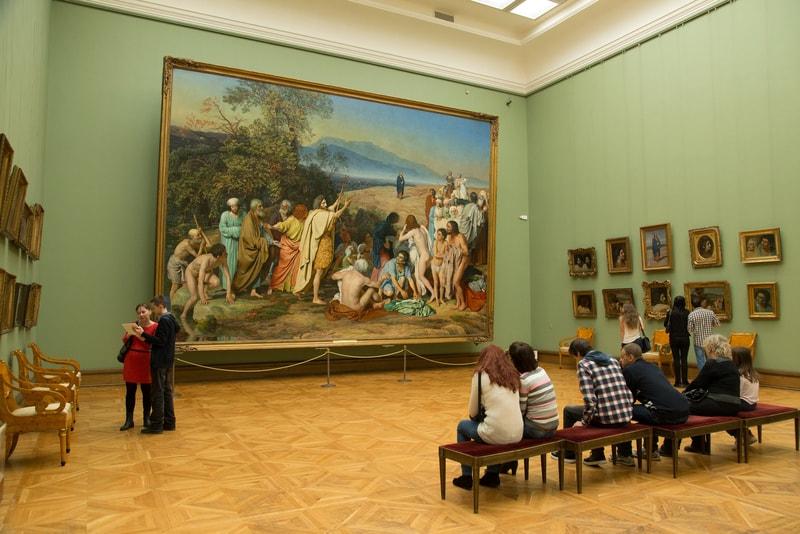 Tretyakov Müzesi Moskova