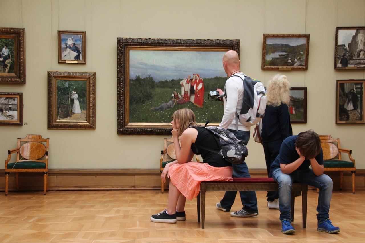 Moskova Tretyakov Devlet Galerisi