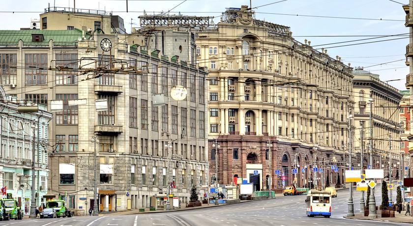 Moskova Gezilecek Yerler Tverskaya Caddesi