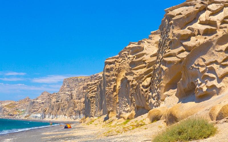Vlychada Plajı Santorini