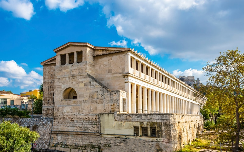 Atina Agorası - Attalos Stoası