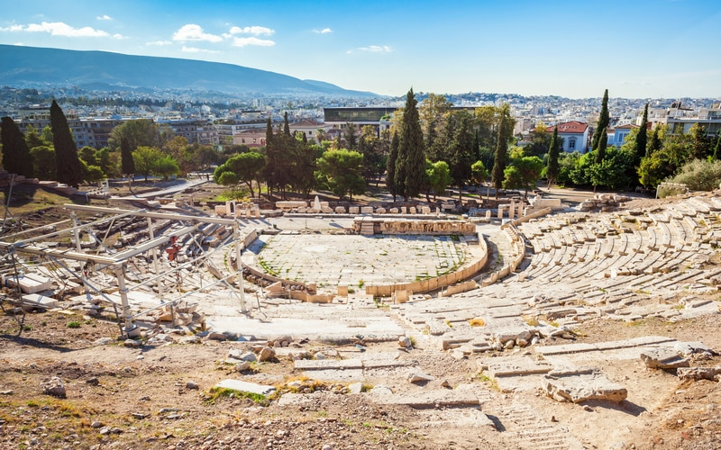 Dionysos Tiyatrosu - Atina'da Gezilecek Yerler