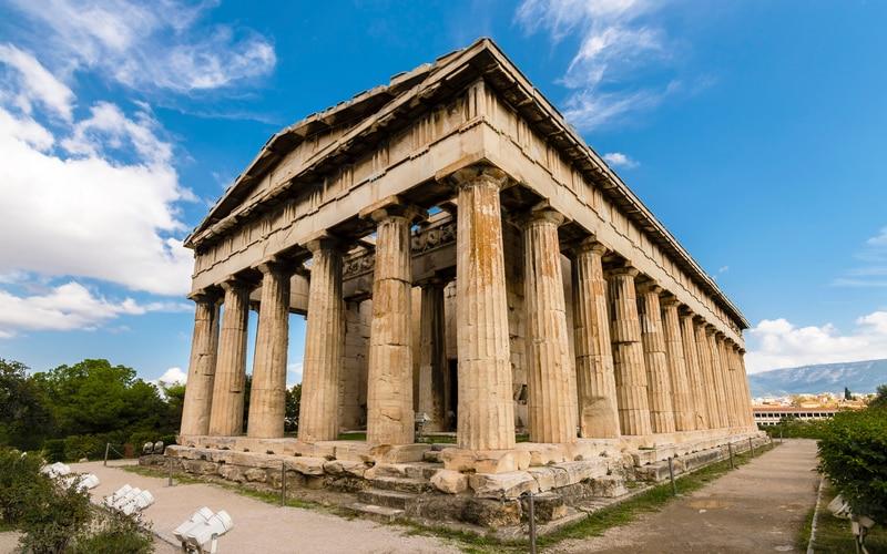 Atina Agorası Hephaestus Tapınağı