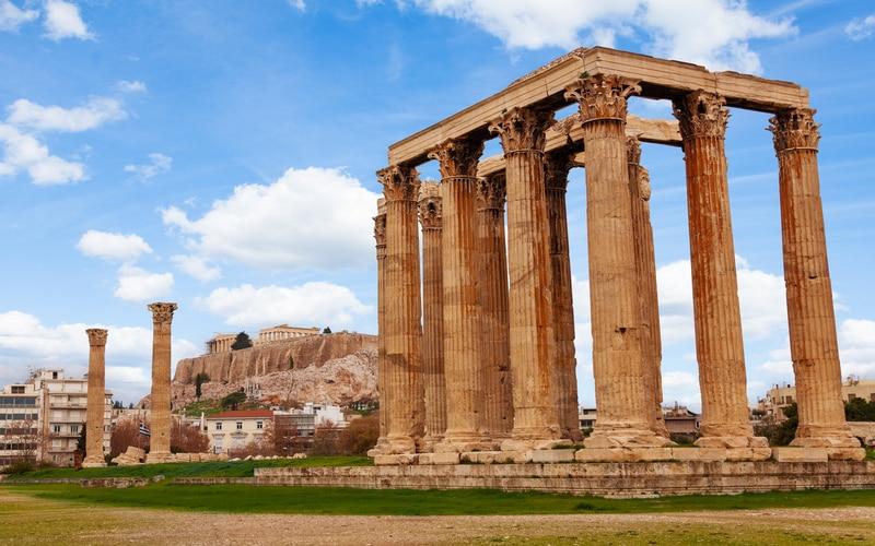 Olimpos Zeus Tapınağı
