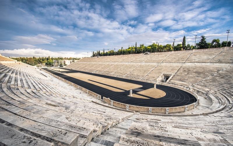Atina Panathinaiko Stadyumu