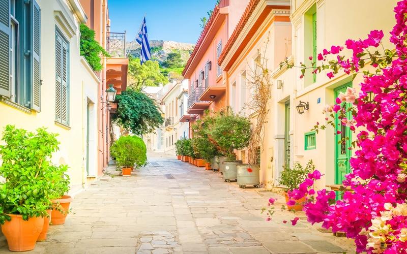Plaka Bölgesi Atina Gezilecek Yerler