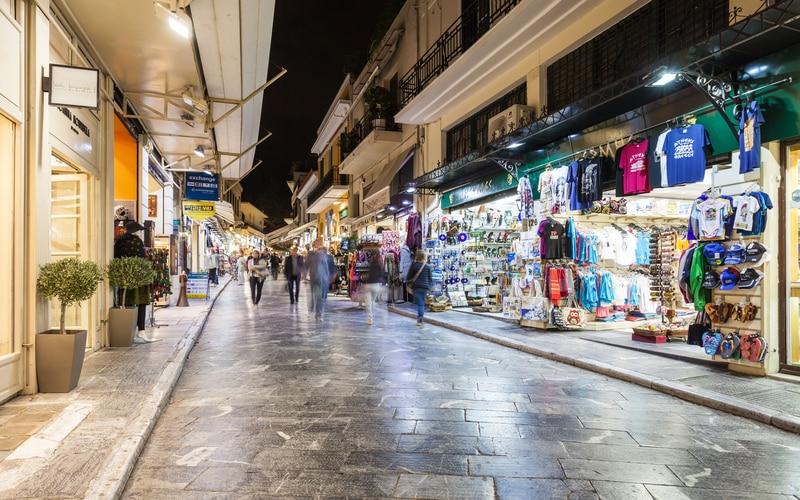 Plaka Alışveriş Caddesi