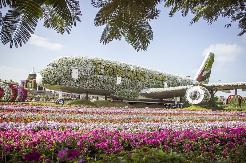 Dubai Mucize Bahçesi