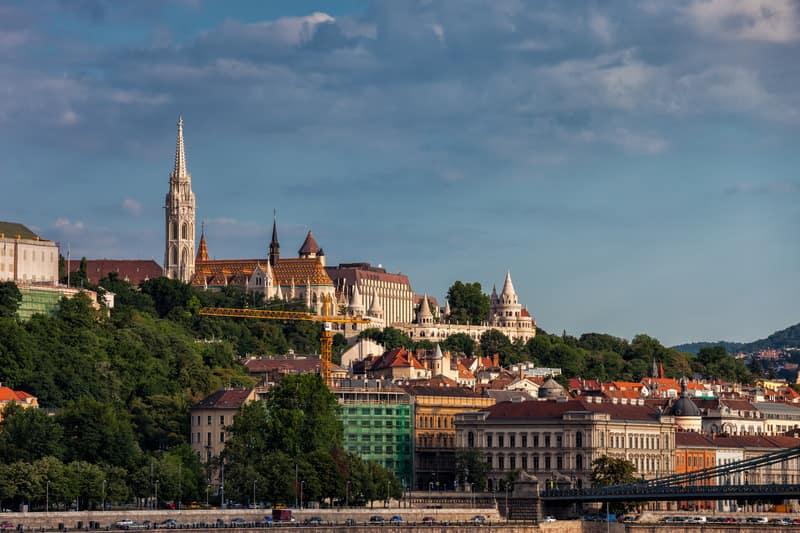Buda Kalesi Budapeşte
