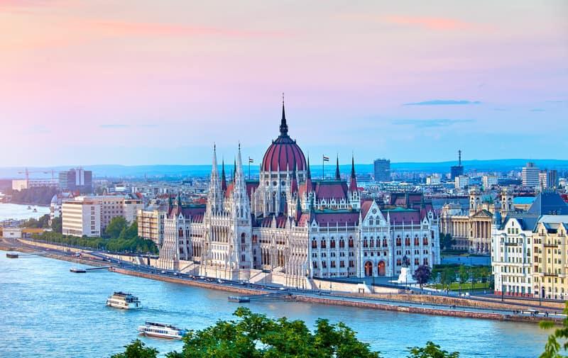 Macaristan Parlamento Binası Budapeşte