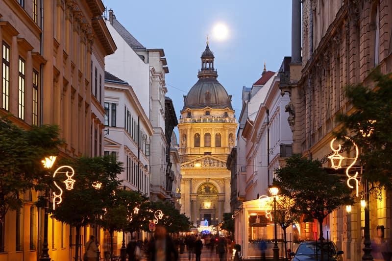 Aziz Stephan Katedrali Budapeşte