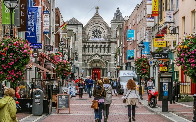 Grafton Street - Dublin Grafton Caddesi