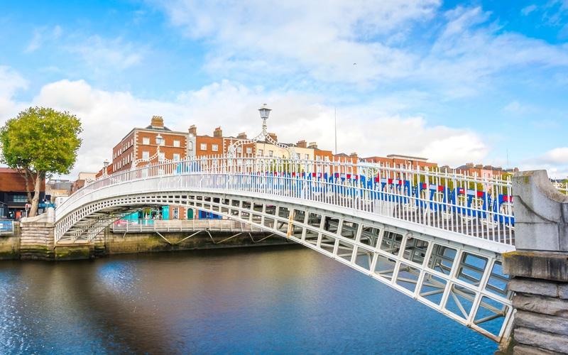 Ha'Penny Köprüsü - Dublin