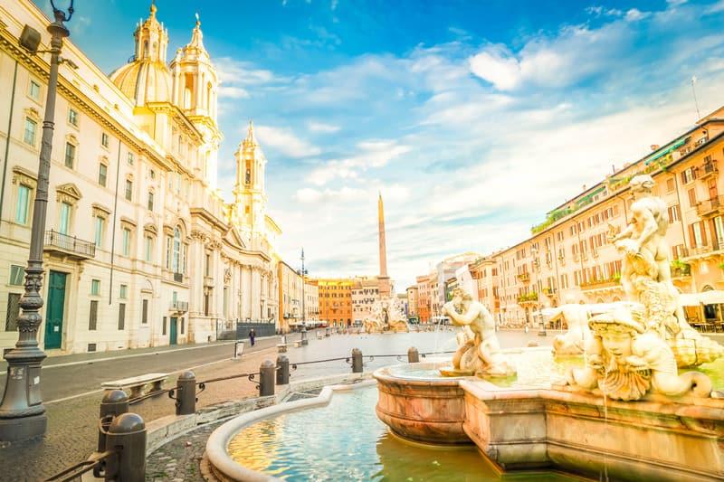 Navona Meydano -Roma'da Nerede Kalınır ?