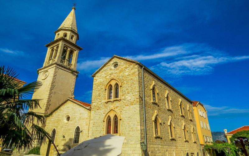 Saint Ivan Kilisesi - Budva Gezilecek Yerler Blog