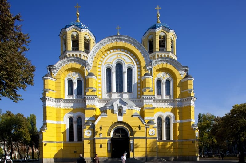 Kiev'in Gezilecek Yerleri
