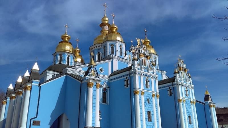 Aziz Micheal Altın Kubbeli Katedral