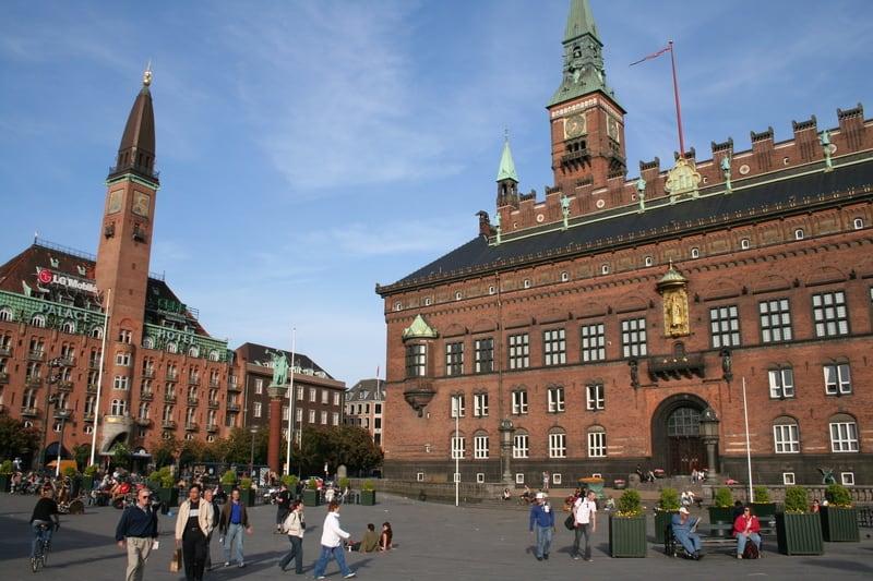 Belediye Meydanı Kopenhag