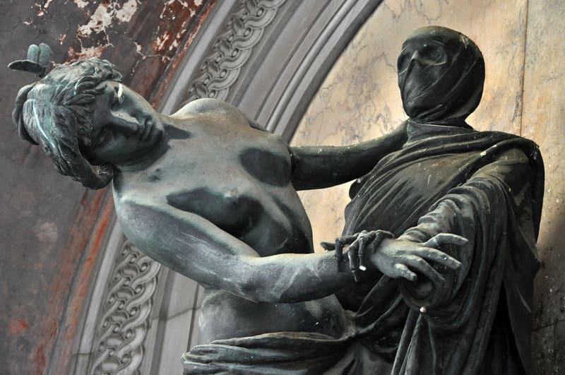 Staglieno Anıtsal Mezarlığı Cenova