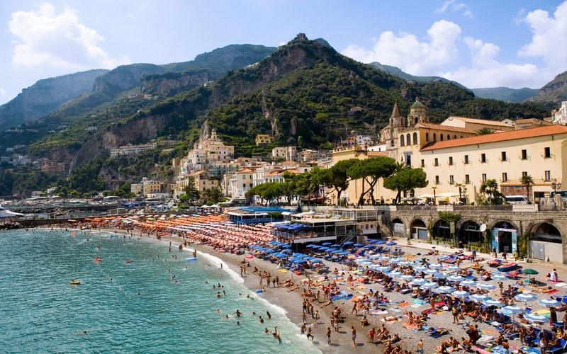 Amalfi Kasabası - Merkez