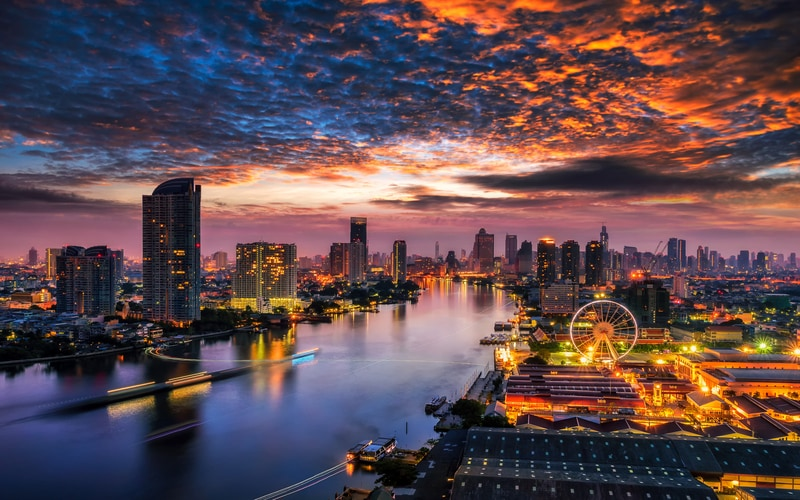 Bangkok da Kalınacak Yerler