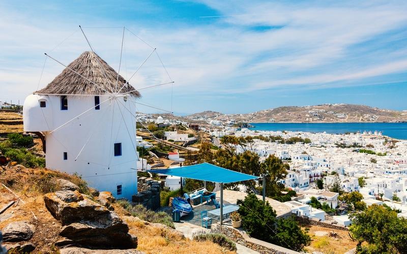 Mykonos Kasabası