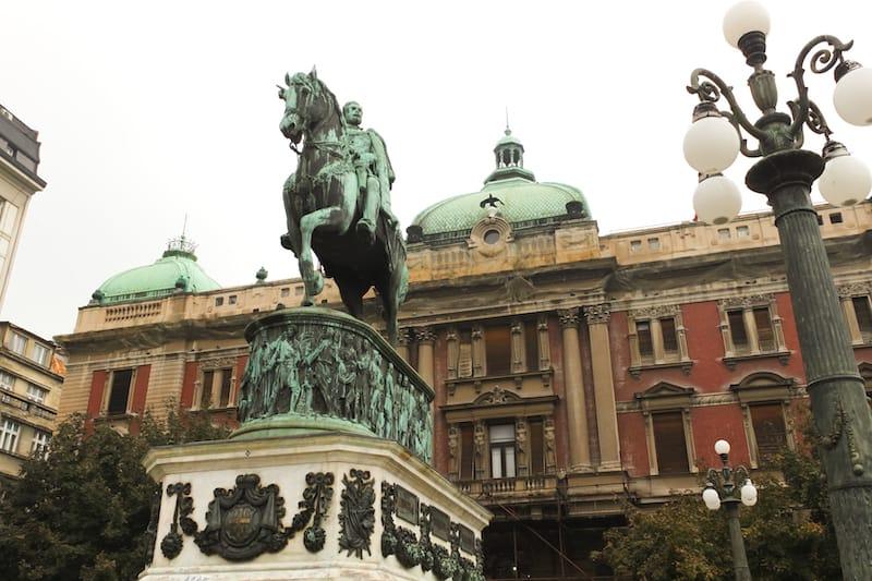 Cumhuriyet Meydanı Belgrad