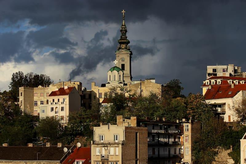 Aziz Micheal Katedrali Belgrad