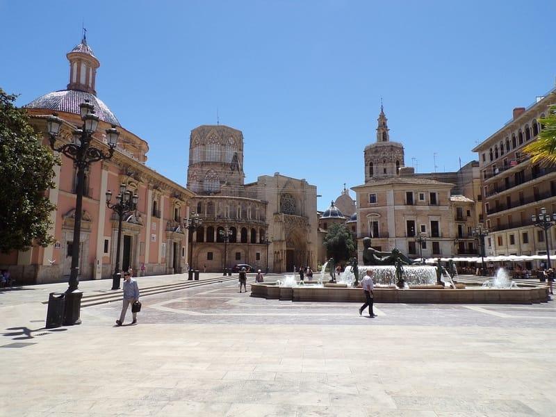 Eski Şehir Bölgesi Valencia