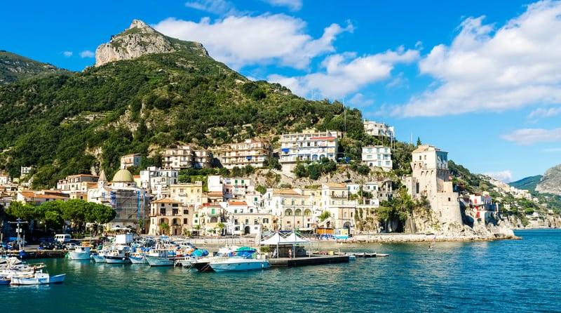 Cetara Kasabası Amalfi