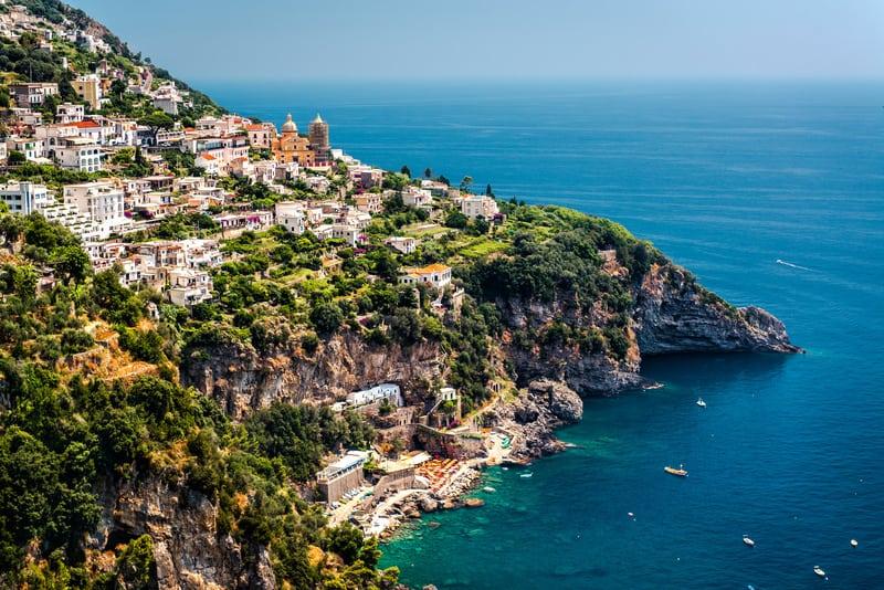 Praiano Bölgesi Amalfi Kıyıları