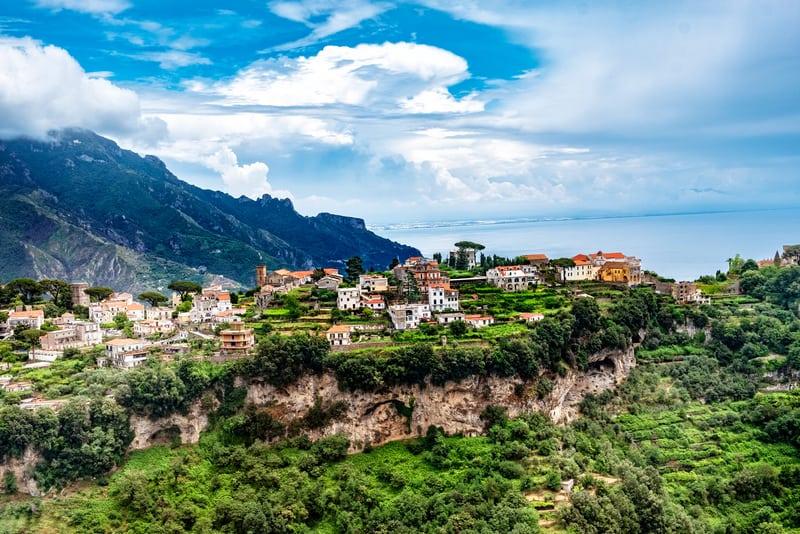 Ravello Kasabası Amalfi
