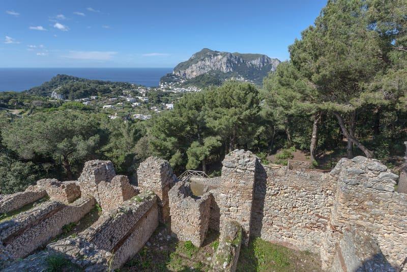 Villa Jovis Capri Adası
