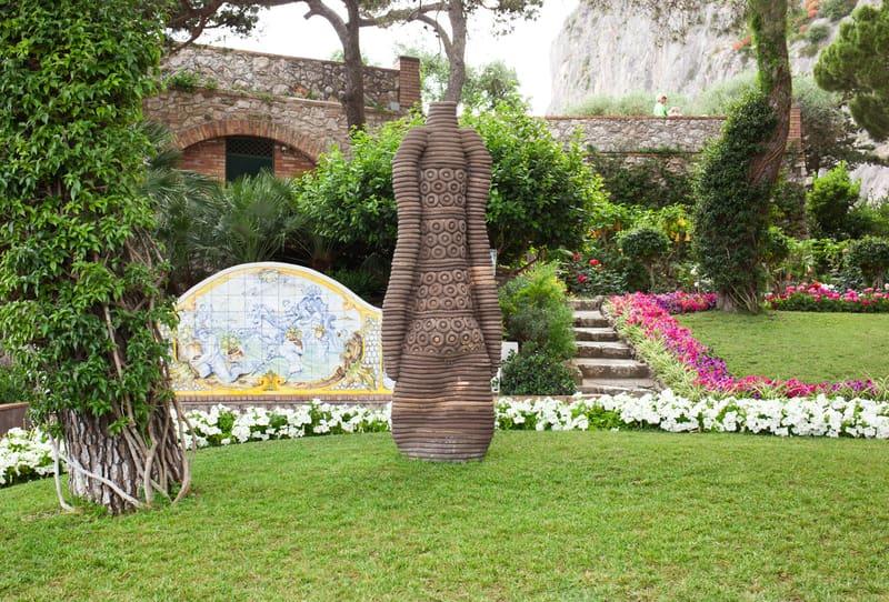 Augustus Bahçeleri Capri Adası