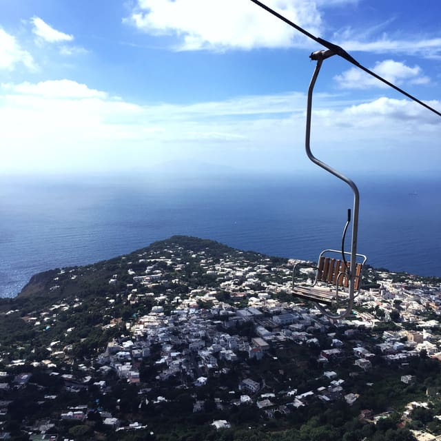 Teleferik Capri Adası