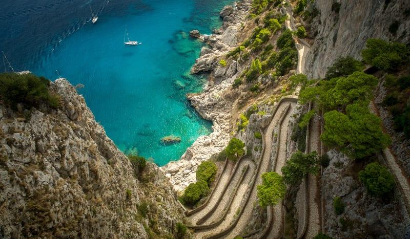 Capri Adası Gezilecek Yerler