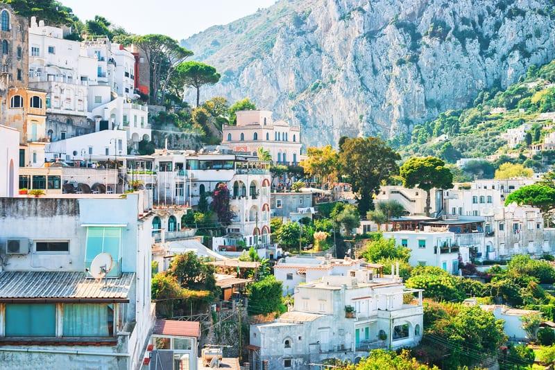 Capri kasabası