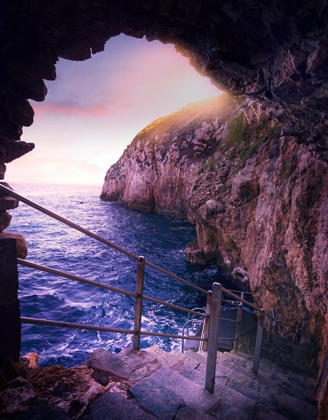 Blue Goroto Mağarası Capri Adası