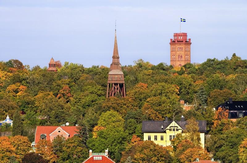 Djurgarden Adası Stockholm