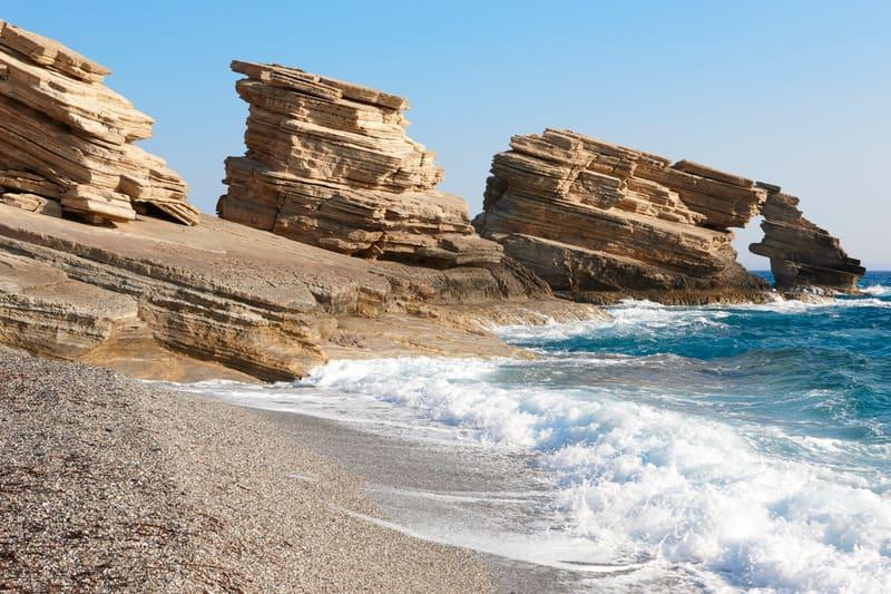 Triopetra Plajı - Girit