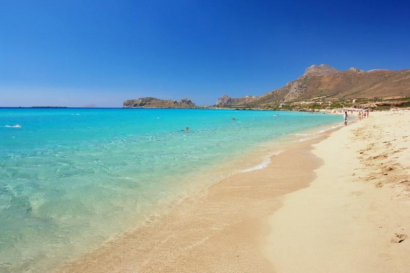 Falassarna Plajı - Girit Gezilecek Yerler