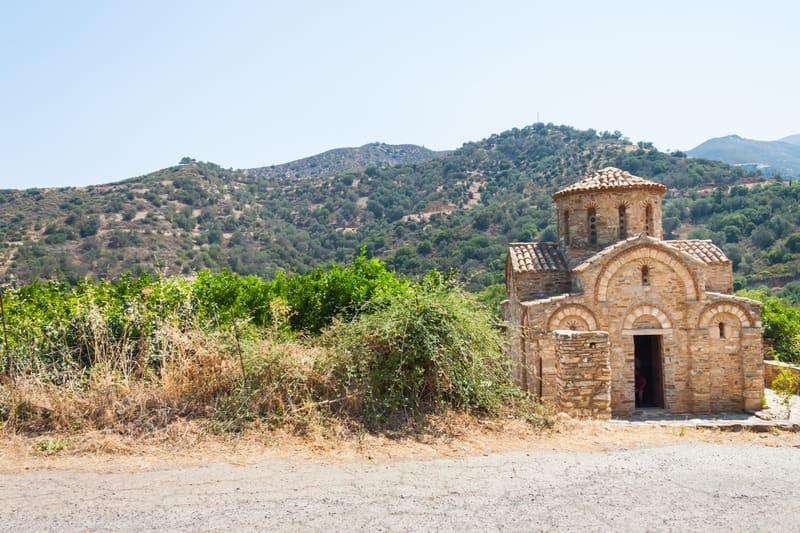 Fodele Kilisesi - Girit Gezilecek Yerler