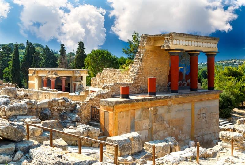 Knossos - Girit Gezilecek Yerler