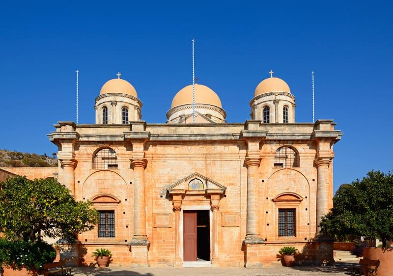 Agia Triada Manastırı - Girit