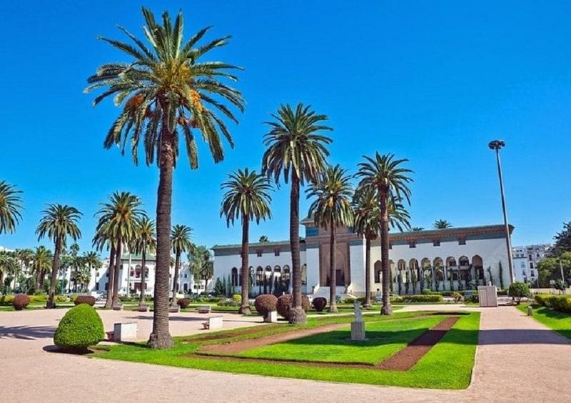 Kazablanka Gezilecek Yerler Mohammed V Meydanı