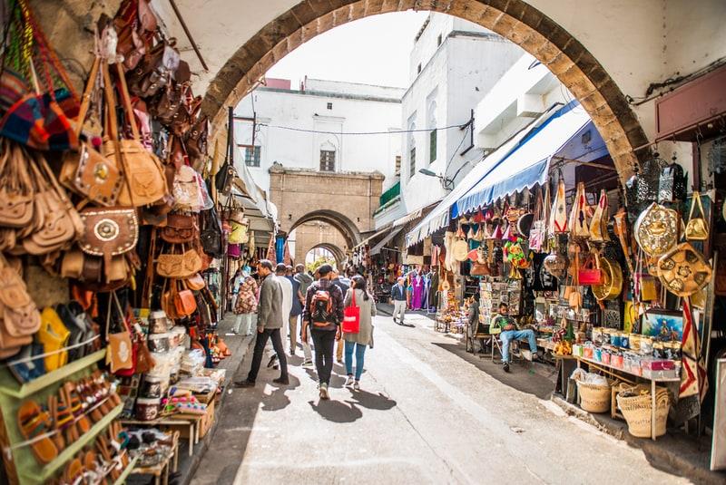 Central market Kazablanka