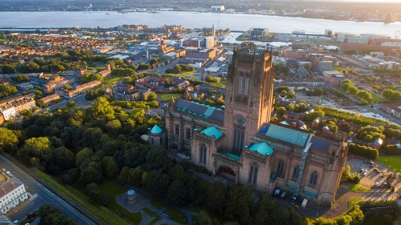 Liverpool Katedrali - Liverpool Gezilecek Yerler